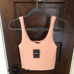 NWT Forever 21 Cropped Tank